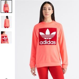 Adidas XS Trefoil Crewneck Sweatshirt